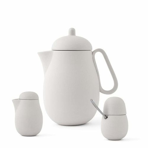 VIVA SCANDINAVIA NINA TEA SET/ 3 PCS/CREAM