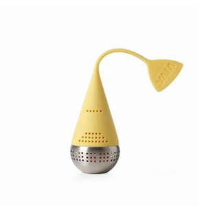 VIVA SCANDINAVIA INFUSION TEA EGG INFUSER -YELLOW BUTTER