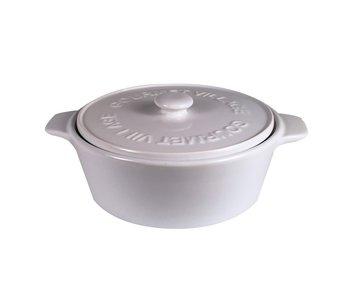 Brie Baker White Ceramic
