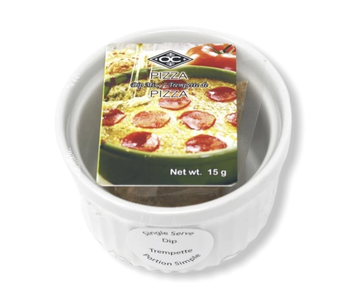 Pizza Hot Dip with Ramekin
