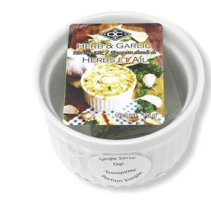 Premier Gift Garlic & Herb Hot Dip with Ramekin