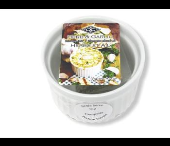 Garlic & Herb Hot Dip with Ramekin