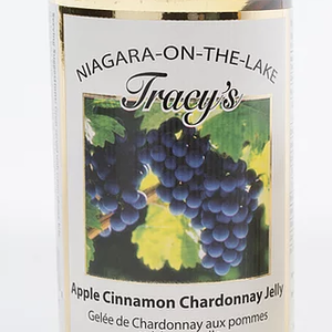 TRACY'S WINE JELLIES Wine Jelly APPLE CINNAMON CHARDONNAY 250ml