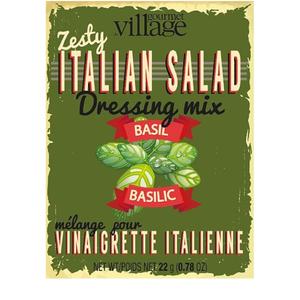 Gourmet du Village RETRO ITALIAN SALAD DRESSING SEASONING