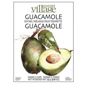 Gourmet du Village DIP RECIPE BOX GUACAMOLE