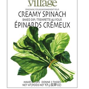 Gourmet du Village DIP RECIPE BOX CREAMY SPINACH