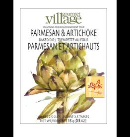 Gourmet du Village DIP RECIPE BOX PARMESAN ARTICHOKE