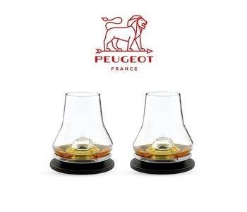 PEUGEOT  Whiskey Tasting Set of 2