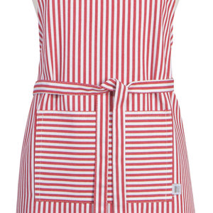 Danica Apron Chef Red Stripe