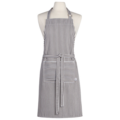 Danica Apron Chef Black Stripe