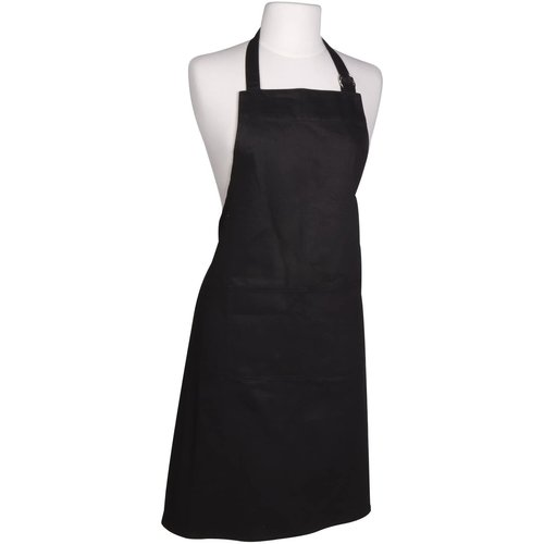 Danica Apron Chef Plain  Black