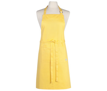Apron Chef Plain  Lemon Yellow