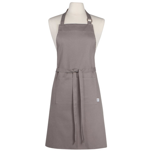 Danica Apron Chef Plain  Grey