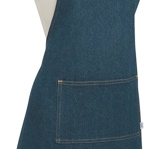Danica Apron Chef Plain  Denim