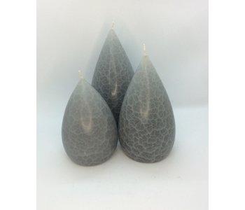 Candle Stout Crackle Light Grey