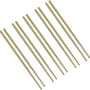 Harold Import Company Chopsticks Gold 5 Pairs Per Package