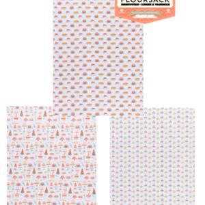 Danica Baker's Floursack Tea Towel Cake set of 3