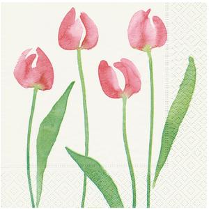 OCD Napkin Lunch Paper Watercolour Tulip