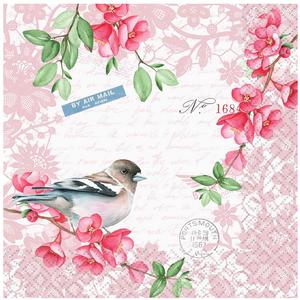 OCD Napkin Lunch Paper Sweet Bird
