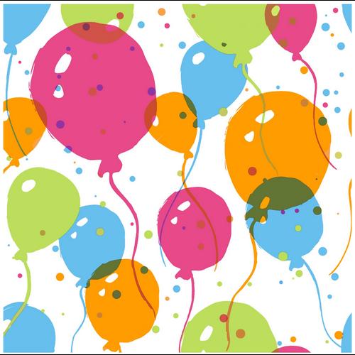 OCD Napkin Cocktail Paper Splash Balloons
