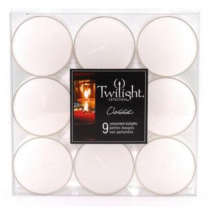 OCD Tealight 9pcs White