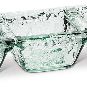 Abbott Dish triple bowls glass