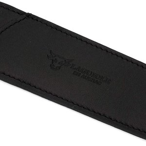 Laguiole LAGUIOLE HUNTING KNIFE BLACK LEATHER POUCH