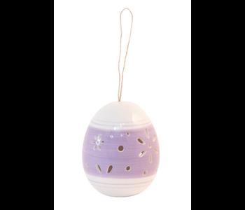 Decorative Purple Egg