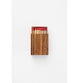 ADC GLAZE Handmade matchbox Zebrawood Small