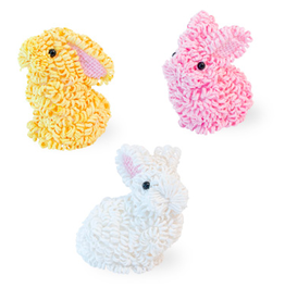 Carsim Decorative Bunny - Assorted Colours