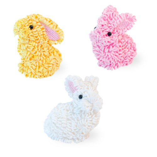 Carsim Decorative Bunny - Assorted Colours