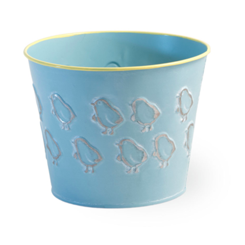 Carsim CHICK BUCKET BLUE EASTER