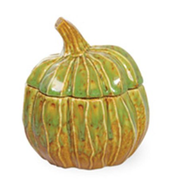Carsim AUTUMN DAYS PUMPKIN JAR GREEN