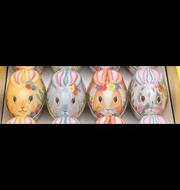 JL Bradshaw Embossed Tin Bunny