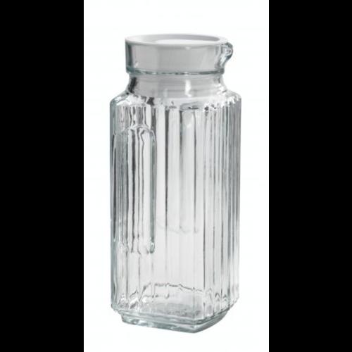 JL Bradshaw Pitcher Bistro 1L Glass ANCHOR HOCKING