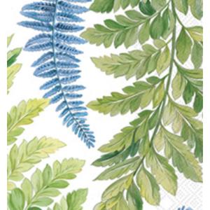 IHR Napkin/Guest Towel Paper ARWEA White Blue