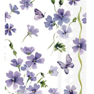 Carsim Napkin/Guest Towel Paper PURPLE SPRING