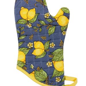 Danica Mitts Classic Patterned Provencal Lemons set of 2