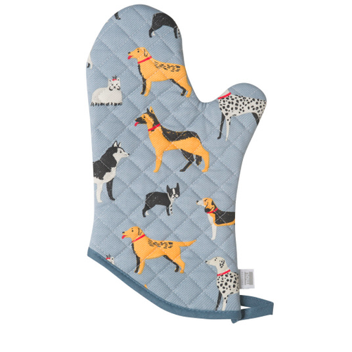 Now Designs Mitts Classic Patterned Dog Days Set