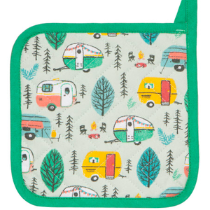 Danica Pot Holder Classic Assorted Set/2 Happy Camper