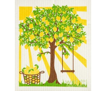 Swedish Cloth Lemon Summer Tree