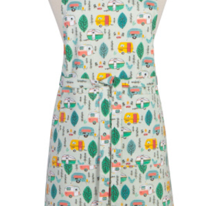Danica Apron Patterned  Happy Camper