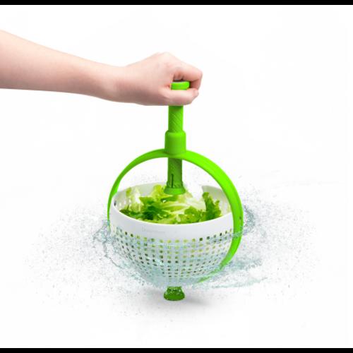 Dreamfarm DREAMFARM Spina Colander/Salad Spinner Green & White