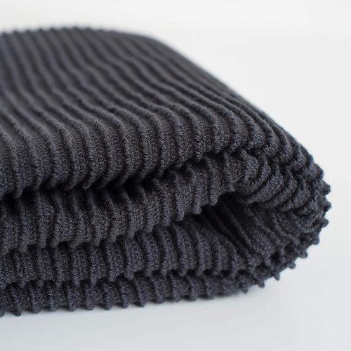 Danica Tea Towel Ripple (variety of colors) Black