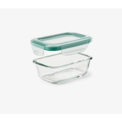 OXO OXO SMARTSEAL 1.6 CUP RECT. GLASS