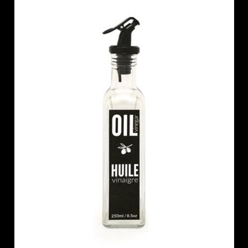 Danesco Oil/Vinegar bottle 250ml/8.5oz with no drip pourer