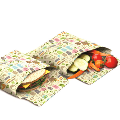 Danica Beeswax Sandwich Bag/ Set of 2