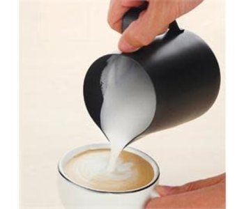 Cafe Cult Milk Pitcher BLACK 24 oz