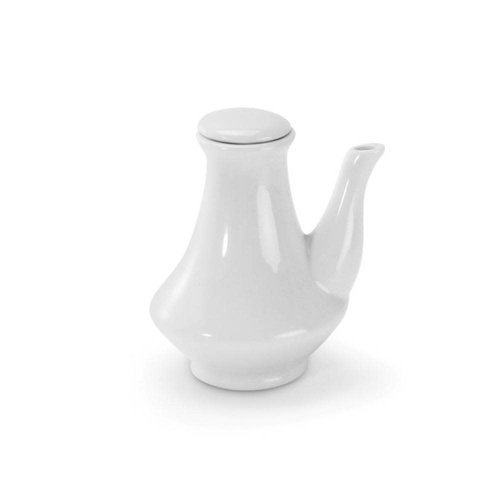 BIA Cruet small white with lid