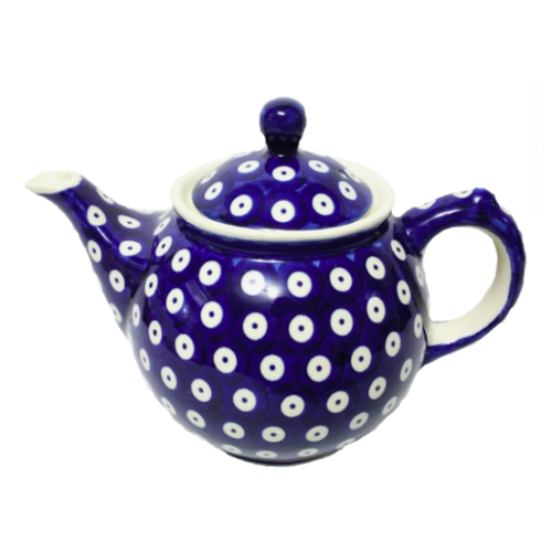 Polish Pottery Morning teapot 900 mL POLKA DOT